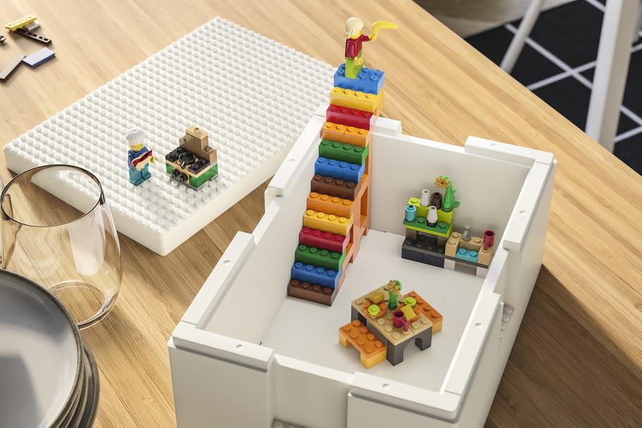 IKEA X LEGO: découvrez Bygglek, leur solution de rangement ludique
