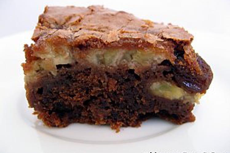 Brownies banane-raisin
