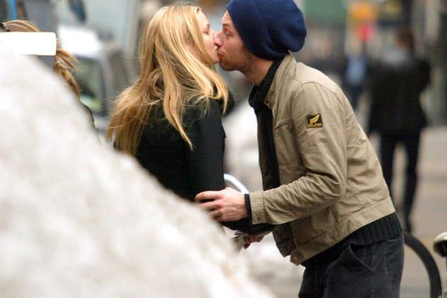 Gwyneth Paltrow et Chris Martin s'embrassent à New York