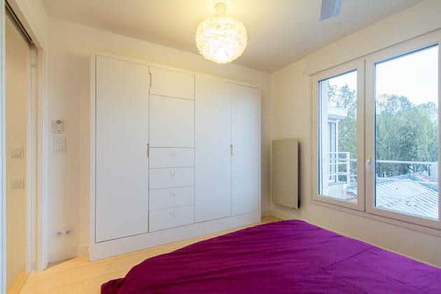 Une chambre réduite au minimum