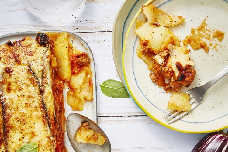 Moussaka aux pommes de terre