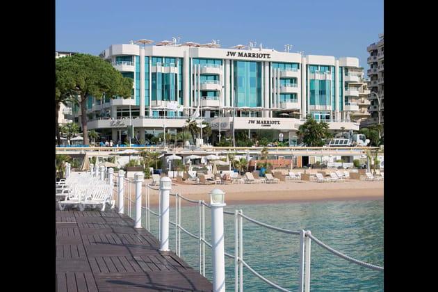L'hôtel JW Mariott Cannes