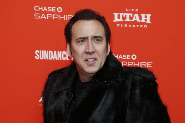 "Nicolas Cage pour ""Mandy"""
