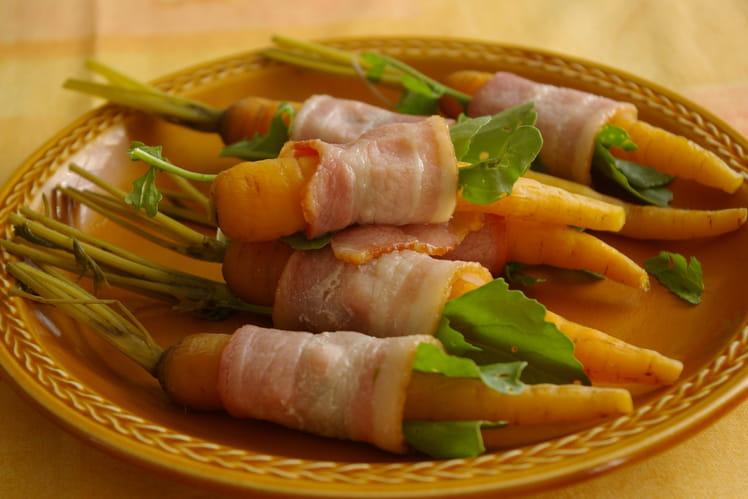 Fagotins de jambon aux carottes