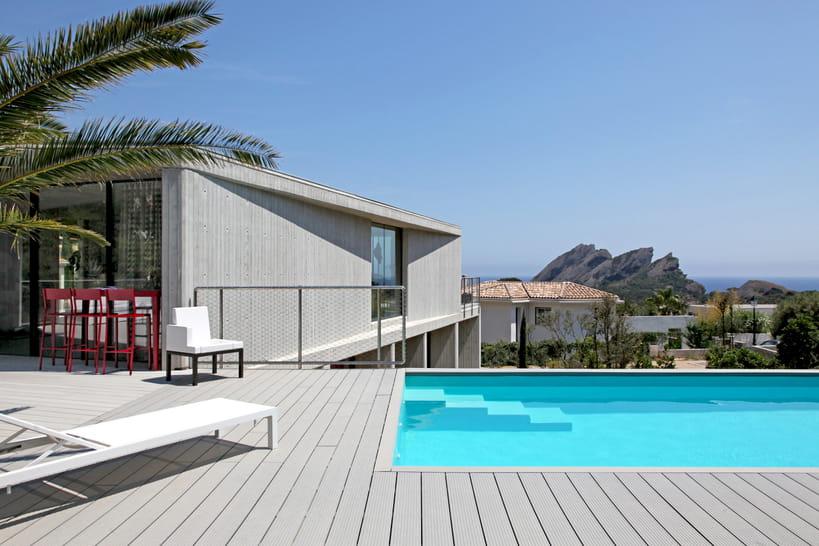 Villas stylées avec piscine