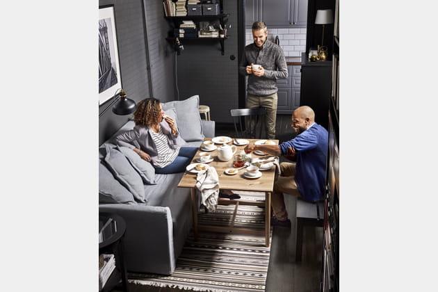 24 heures dans la vie d 39 un canap lit for Ikea heures d orlando