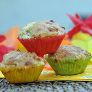 mini-muffins au st marcellin et à la rhubarbe