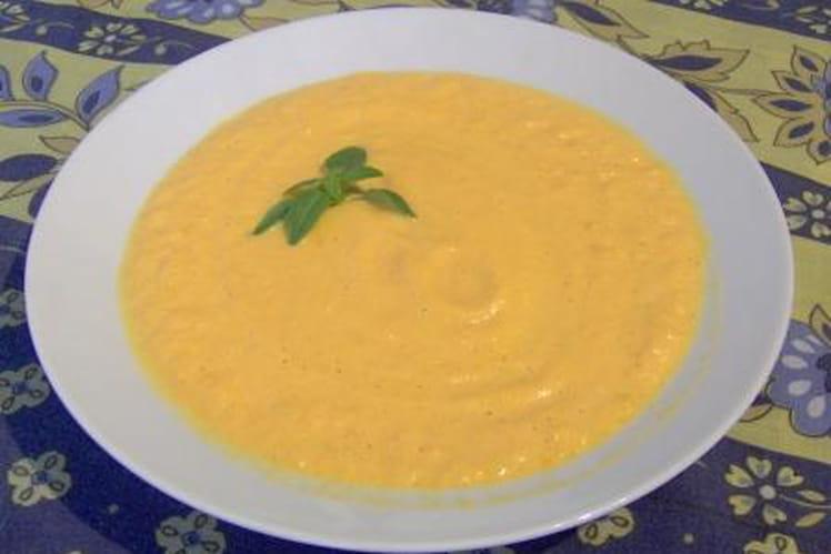 Soupe de courge à la crème