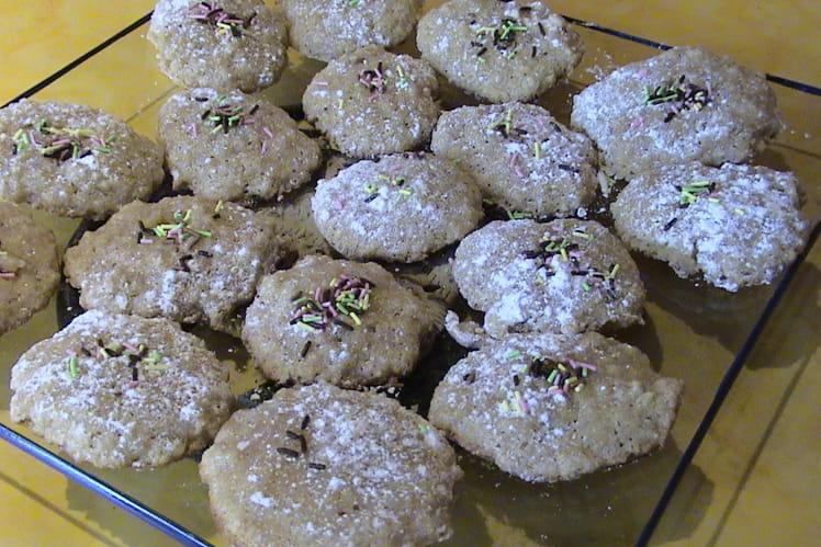 Macarons à la noix de coco saveur anis