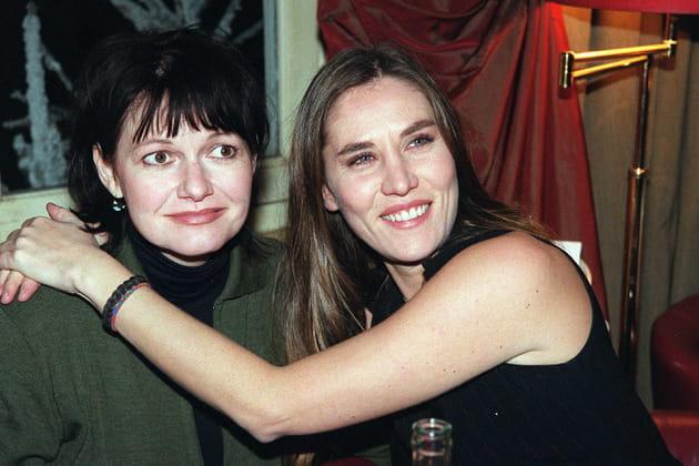 Avec Mathilde Seigner