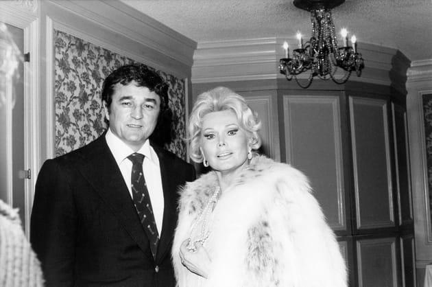 En 1976avec son 7è époux, Michael O'Hara