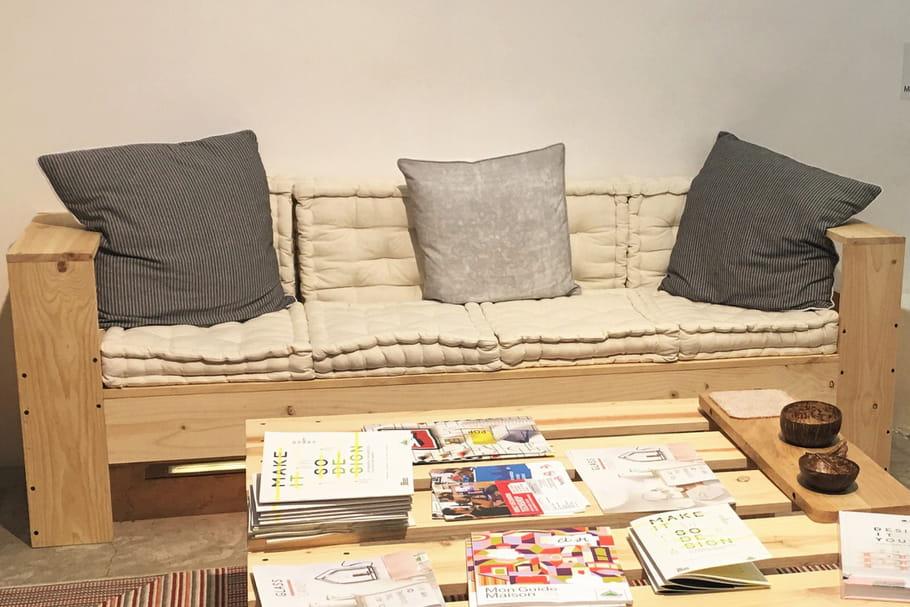 Comment fabriquer un canap en palette - Canape palette bois ...