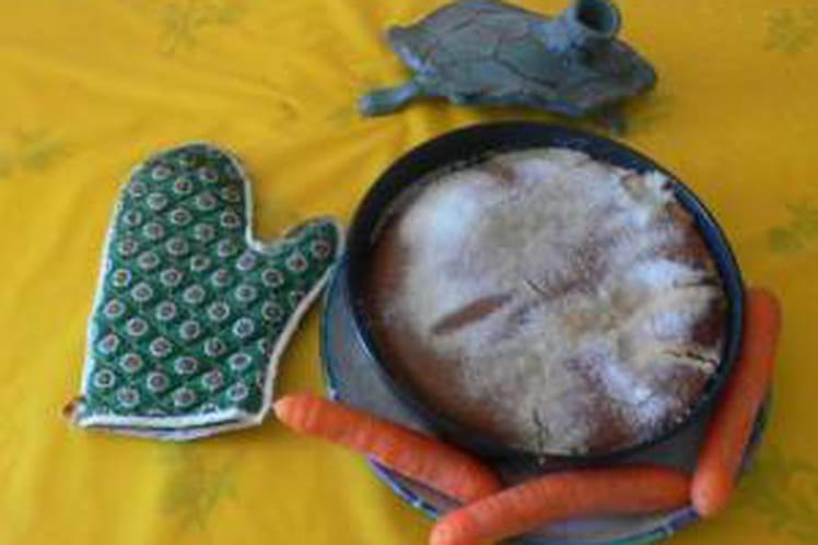 Gâteau Nutella-carottes