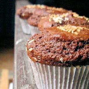 muffins très chocolat