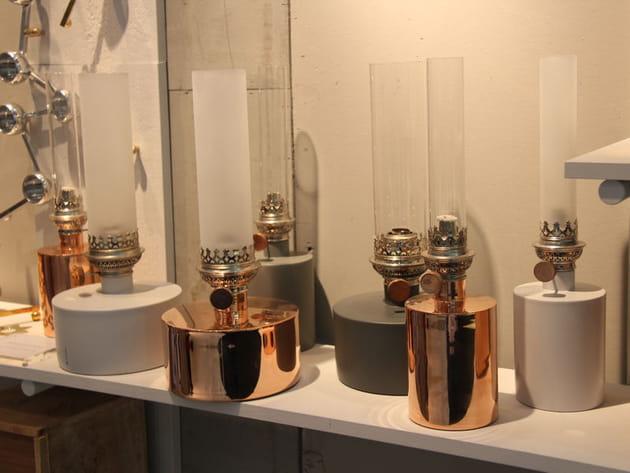 Lampe à huile Patina de Klong