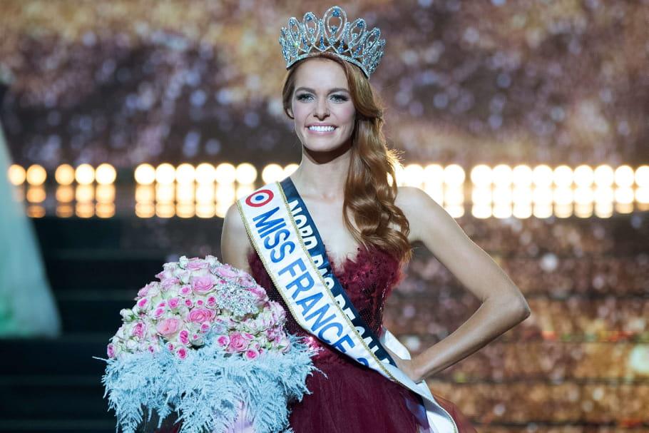 Miss France 2018: Maëva Coucke, son roux étincelant fascine