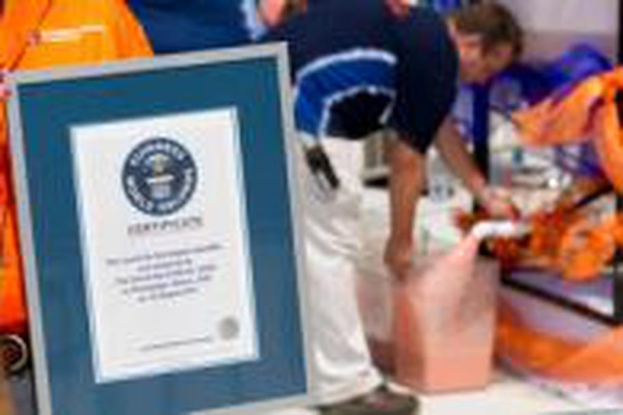 Record du monde : un smoothie de 1249 litres servi dans l'Illinois
