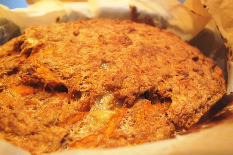 Gâteau à la courge et au comté sans gluten