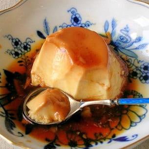 crème renversée au caramel de balsamique