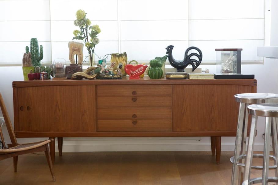 Buffet en enfilade: une pièce vintage au goût du jour