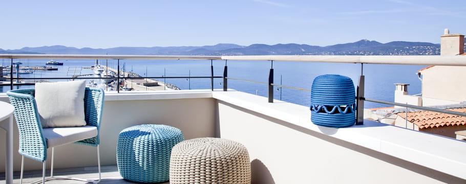 Maison de bord de mer reportages dans des demeures sur for Decoration maison vacances mer