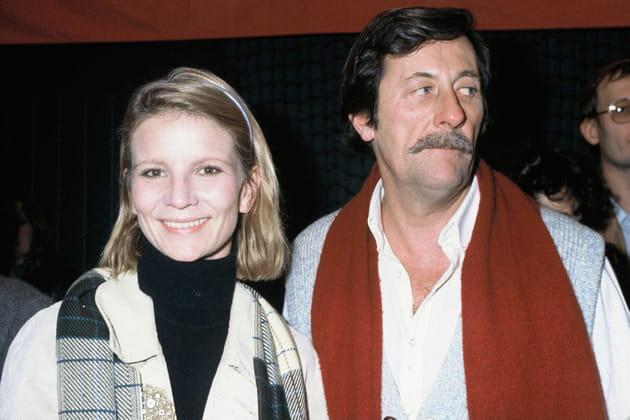 En 1981, avec sa première épouse Nicole Garcia