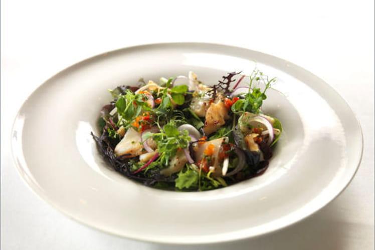 Salade de cabillaud de Norvège à l'aïoli
