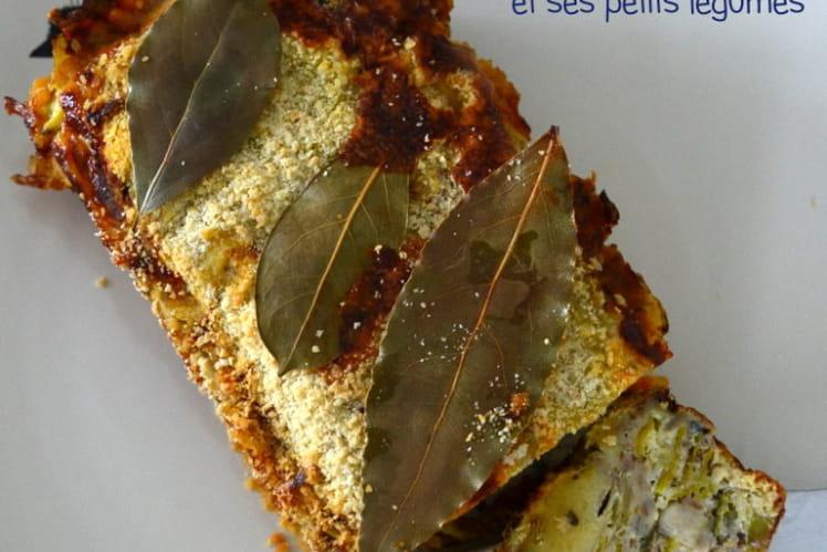 Terrine de sardines et ses petits légumes