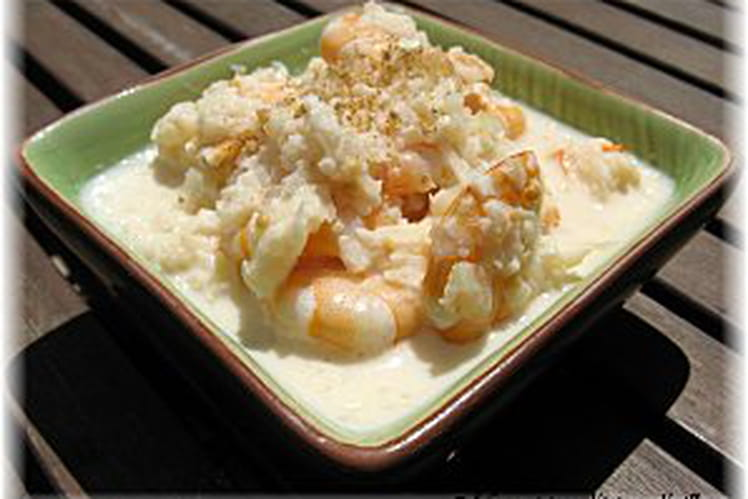 Crevettes aux graines de moutarde