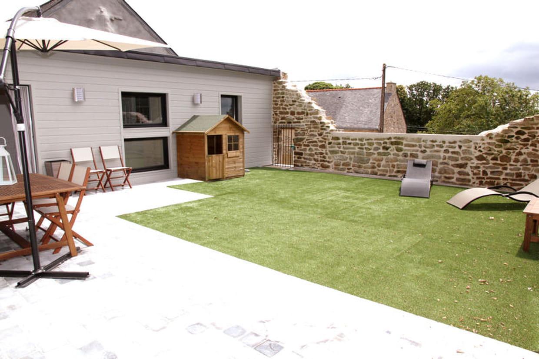 le jardin de la terrasse. Black Bedroom Furniture Sets. Home Design Ideas