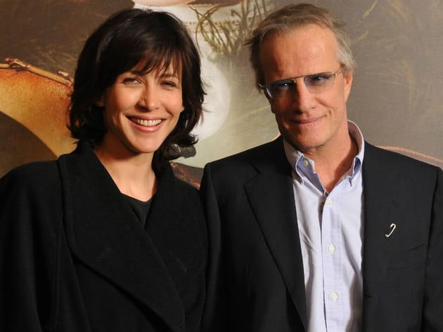 Sophie Marceau et Christophe Lambert avant-première