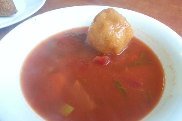 Kube, soupe de betterave