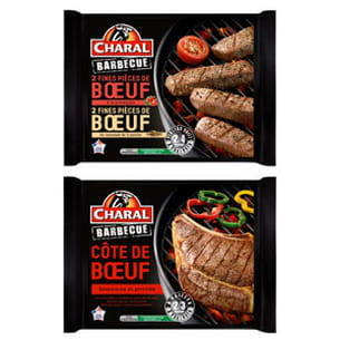 gamme barbecue de charal