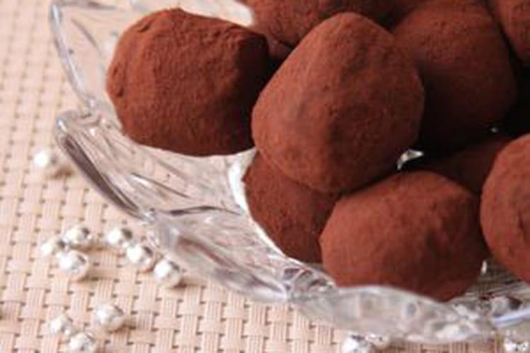 Recette De Truffes Au Chocolat Noir La Recette Facile