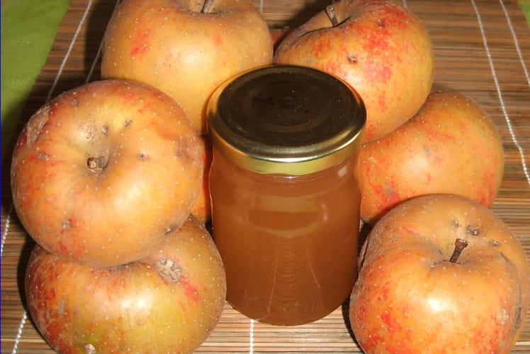 Gelée de pomme au cidre
