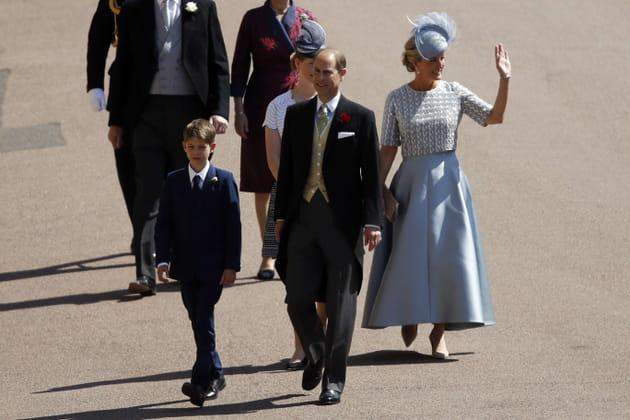 Le prince Edward, Sophie Rhys-Jones et leur fils James