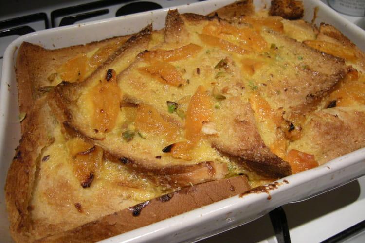 Pudding papaye et safran