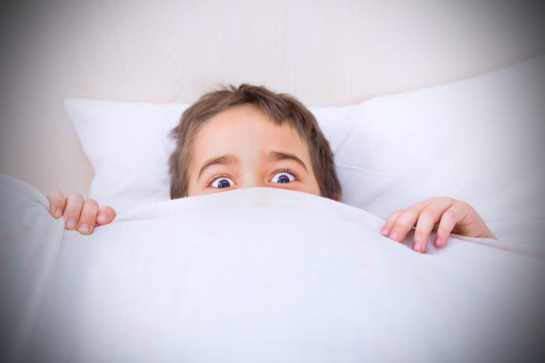 Les peurs les plus fréquentes des enfants