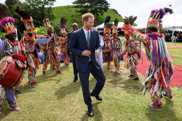 Le prince Harry s'est royalement éclaté aux Caraïbes