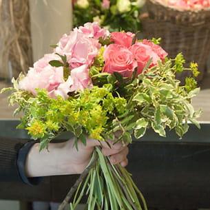 un bouquet doit se voir en trois dimensions