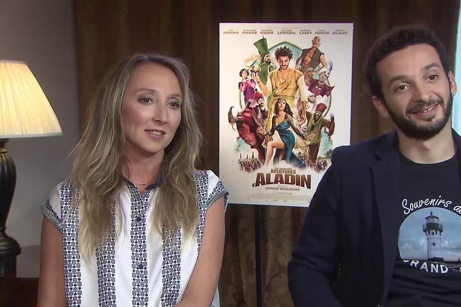 Audrey Lamy et William Lebghil: amants dans Les Nouvelles aventures d'Aladin