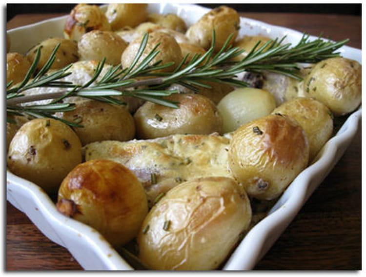 recette de lapin moutarde aux pommes de terre nouvelles la recette facile. Black Bedroom Furniture Sets. Home Design Ideas