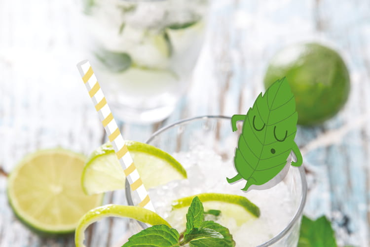 Mojito cocktail sans alcool pour les enfants