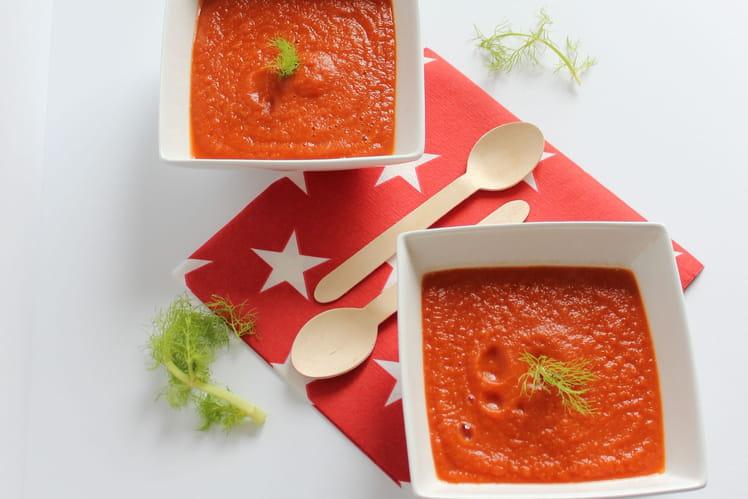 Soupe fenouil et tomate