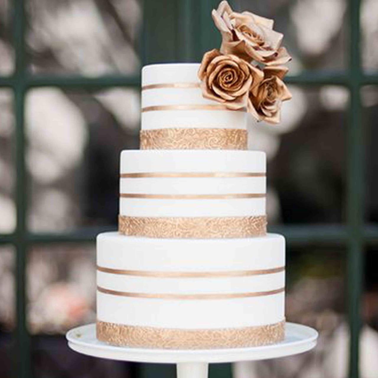 25 Wedding Cakes Tendance à Croquer