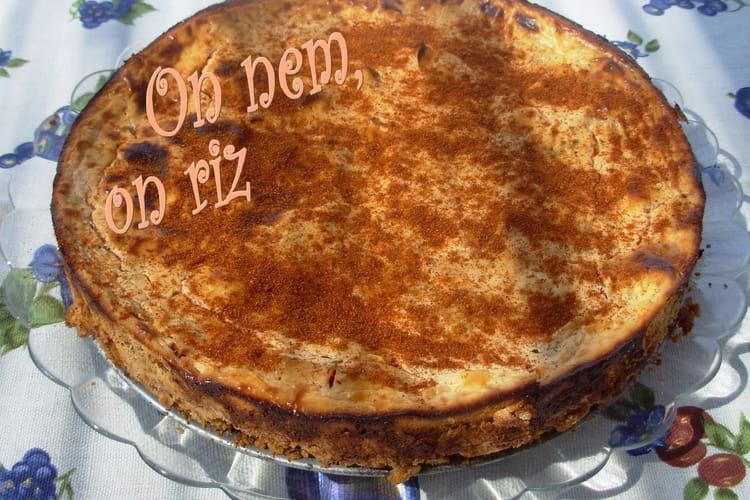 Cheesecake à la truite et aux tomates séchées