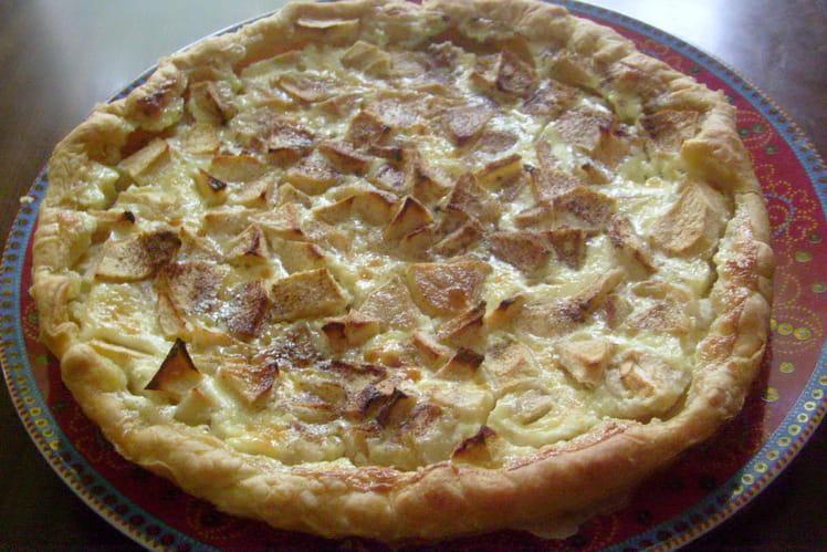 tarte aux pommes et canelle