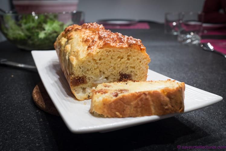 Cake au crottin de chèvre et figues séchées