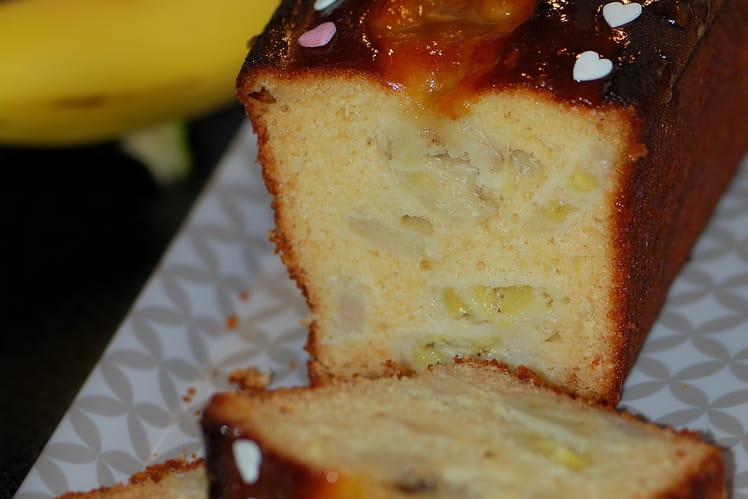 Cake bananes, amandes et miel