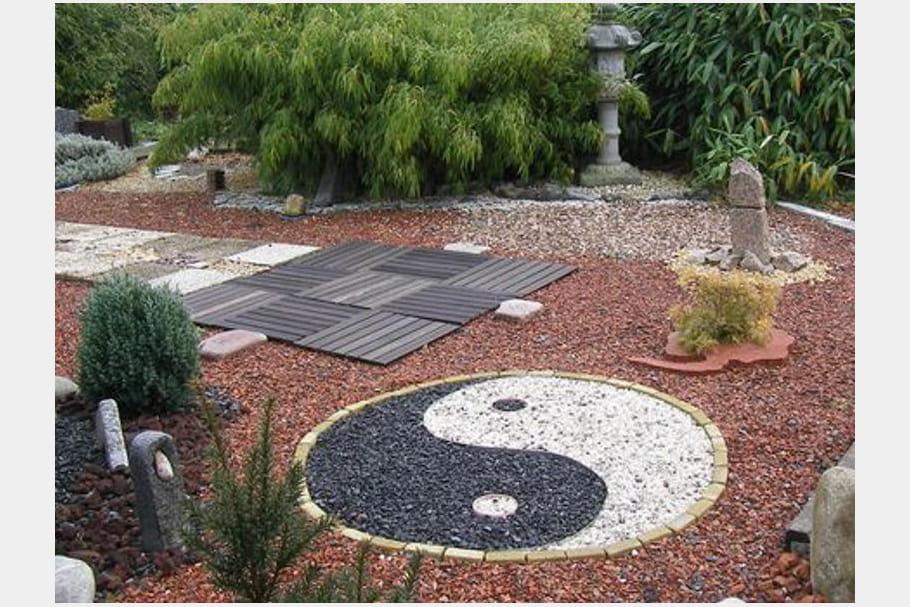 Un jardin japonisant - Giardini giapponesi ...